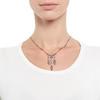 1.63ctw Victorian Triple Drop Diamond Necklace 1