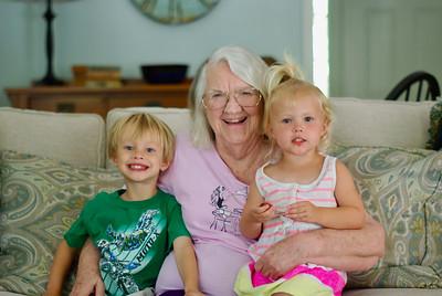 Kids & Grandma Hanke June 2016