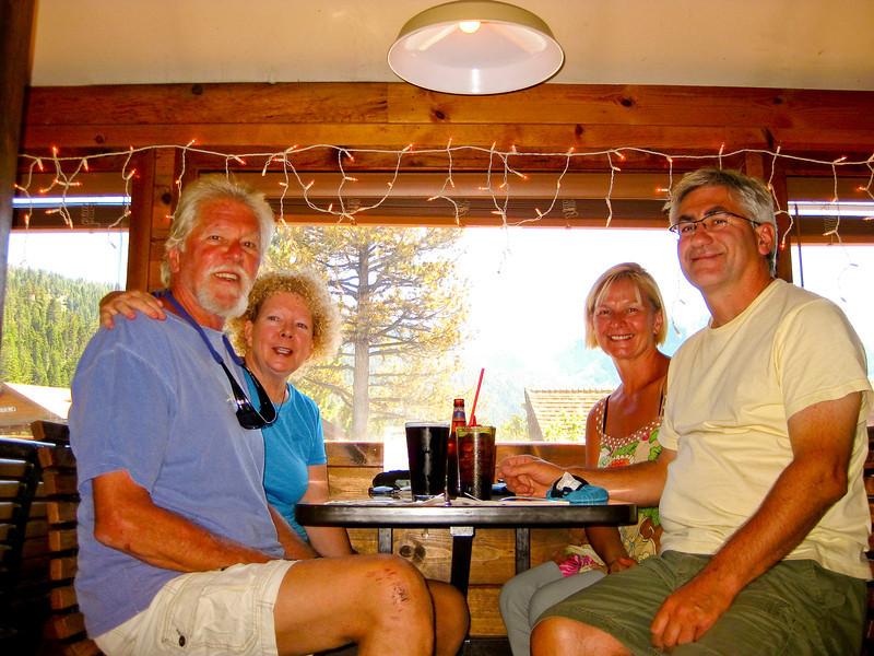 The Gang at the Tiger Bar, June Lake Village