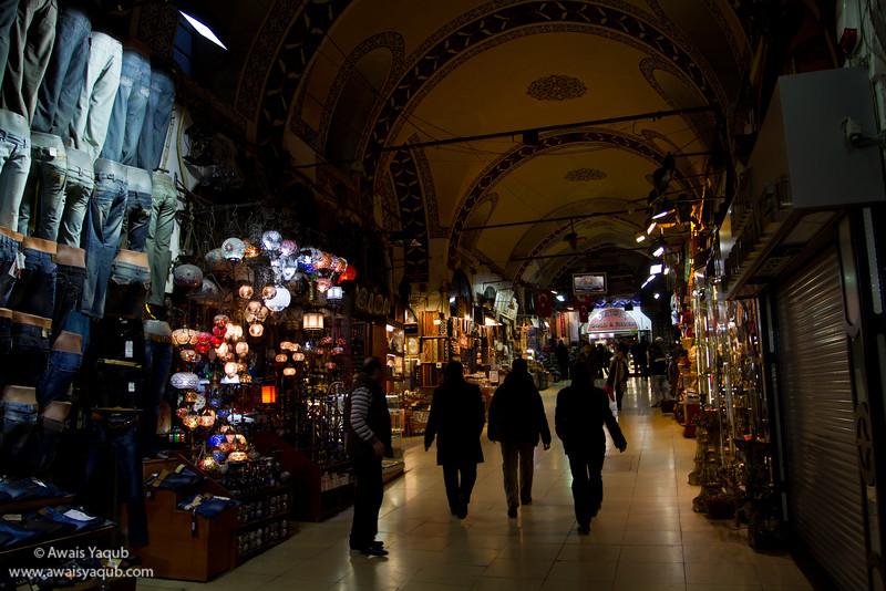 Another view of grand bazaar