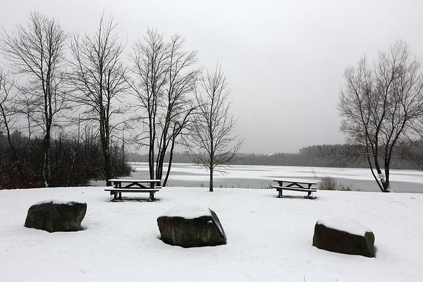 Long Pond Tewksbury snow 021320