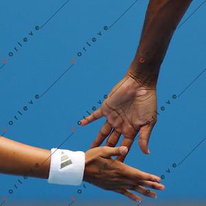 Feb 1 - Sania Mirza (IND) / Mahesh Bhupathi (IND) vs. Nathalie Dechy (FRA) / Andy Ram (ISR)