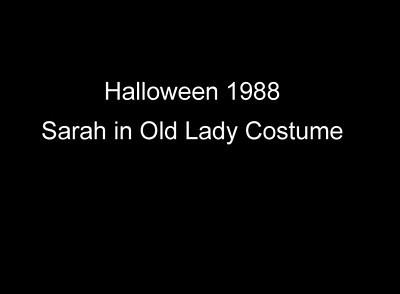 Sarah Old Home Movies