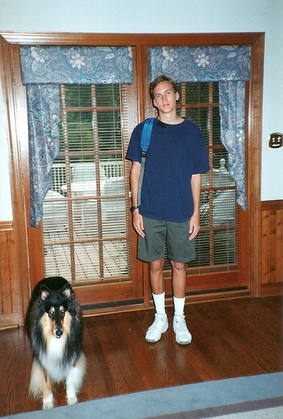 Edward  - first day of 11th Grade - 8/93