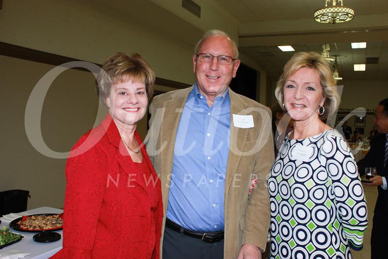 Susan Jakubowski with Cal and Mardi Chamberlain