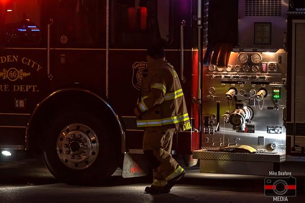 Garden City MI, Dumpster Fire 11-24-2019