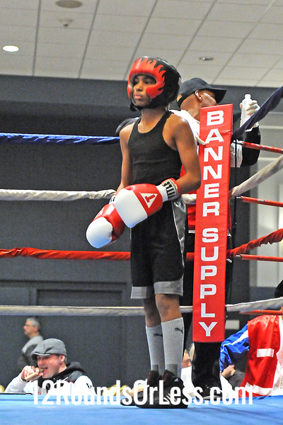 Bout 2 Isaiah Guy, Pittsburgh -vs- Myron Blackmon, Cleveland 90 lbs