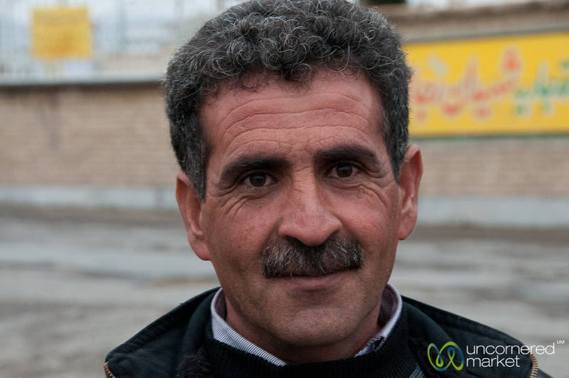 Iranian Fruit Vendor - Hamadan, iran
