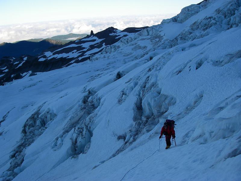 Tahoma Glacier crevasses 1
