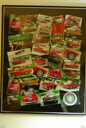 Car Collage Poster examples, NOT for sale here