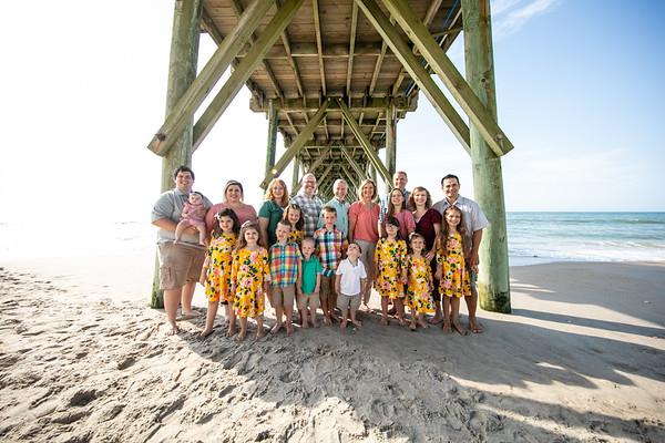 Melanie Davis Family Topsail Island NC