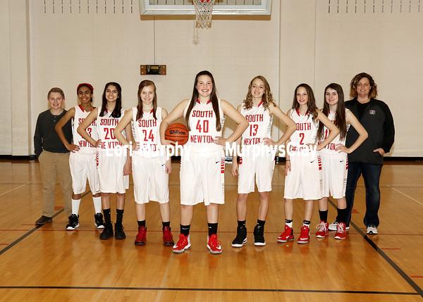 SNMS Girls Basketball 7-8 Grade Team 2017