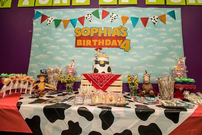 Sophia 4th Bday Party