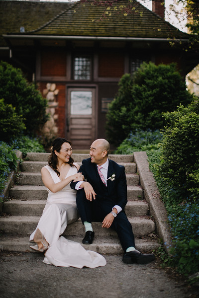 Alfred Caldwell Lily Pond Wedding