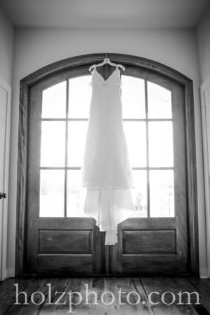 Morgan & Max B/W Wedding Photos