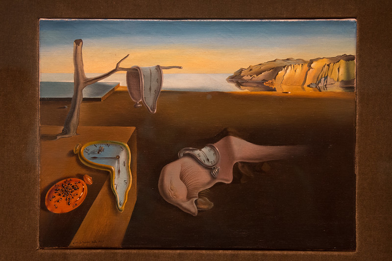 "Salvador Dali, ""The Persistence of Memory"" (1931) -- Museum of Modern Art (MoMA), New York"