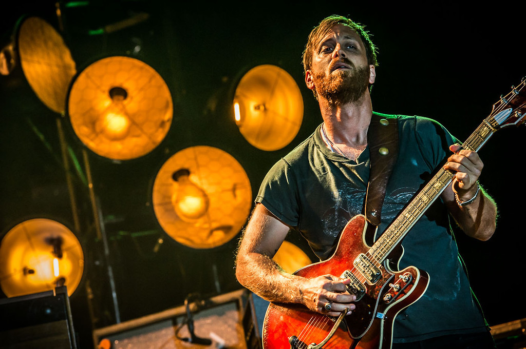 The Black Keys performed at Louisville's Forecastle Music Festival on Saturday July 13, 2013