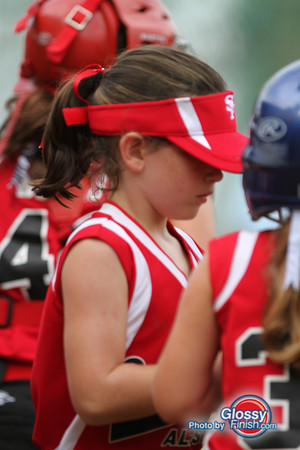 8U - Ocala Marion County Girls Softball vs Santa Fe Babe Ruth Softball