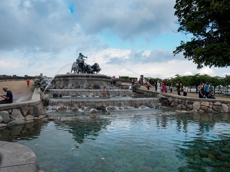Gefion Fountain Gefionspringvandet
