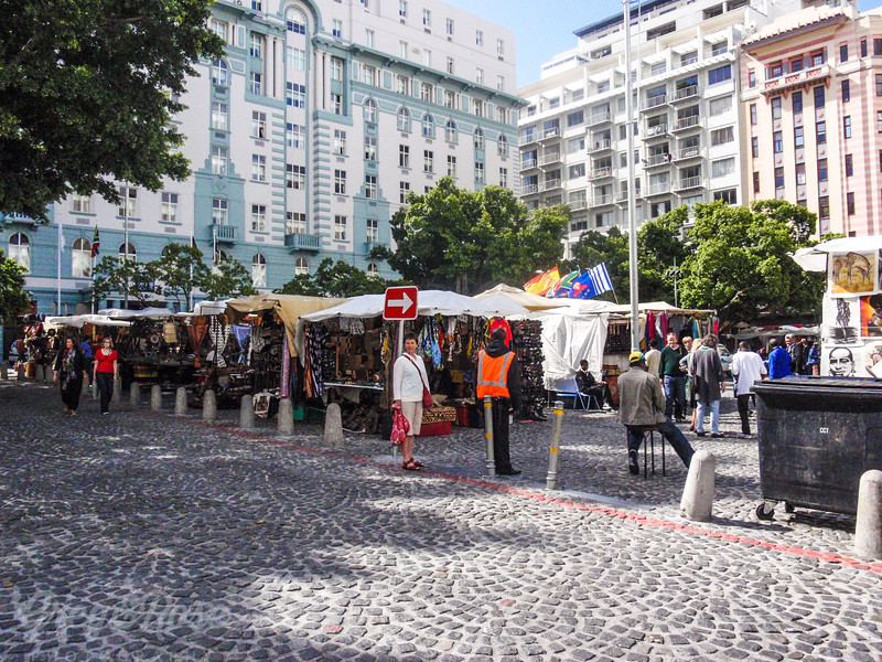 Down Town Market in Cape Town