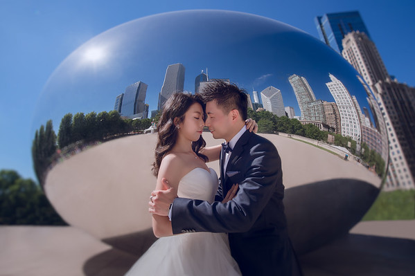 FAN+YOVELA PRE-WEDDING CHICAGO