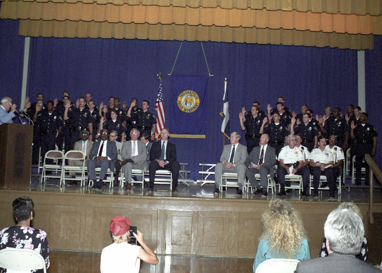 77th Recruit group graduation