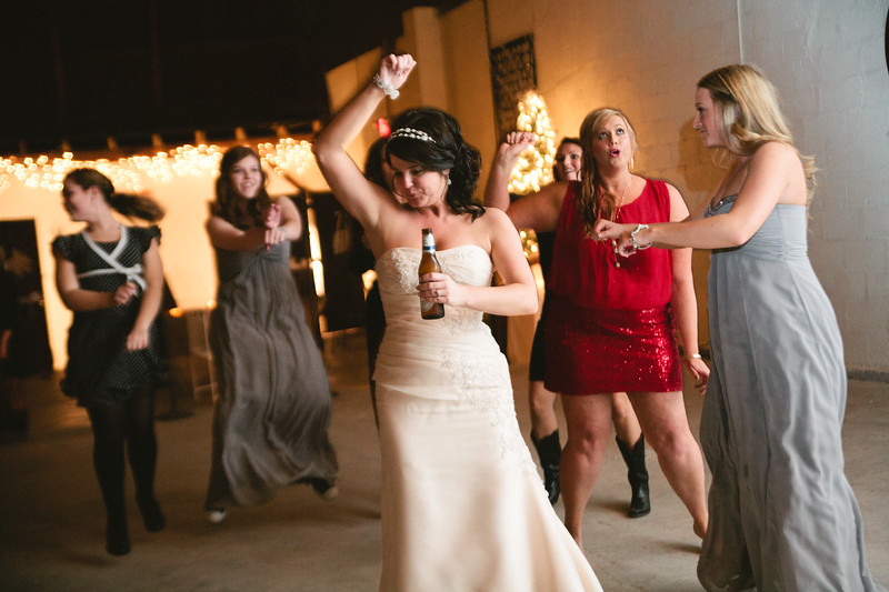bride doing gangnam style