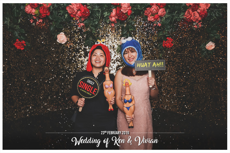 Wedding of Ken & Vivian   © www.SRSLYPhotobooth.sg