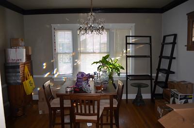 The move in progress - Nov. 2012