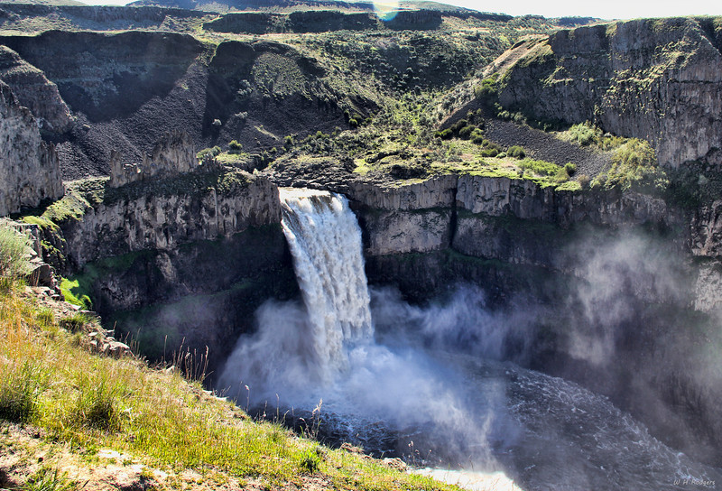 High Water at Palouse Falls, WA