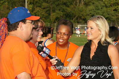 10-22-2010 Watkins Mill HS Boosters and Fox 5, Photos by Jeffrey Vogt Photography