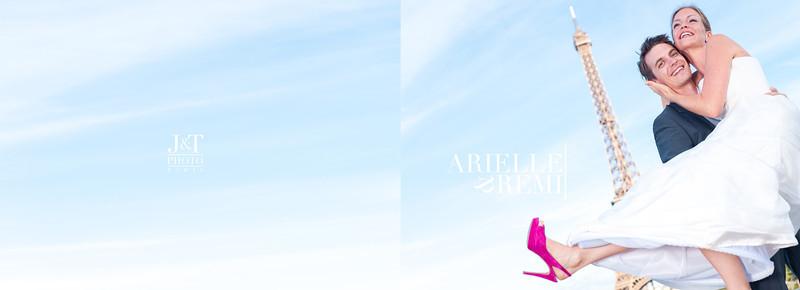 Horizontal Album - Arielle & Remi