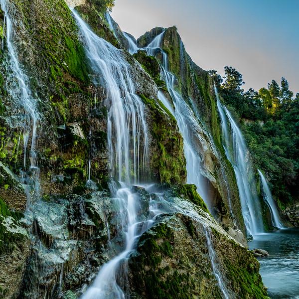 «Waihi Falls» nahe Waimiro