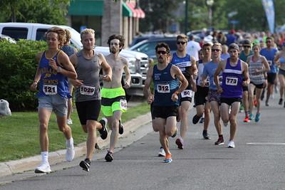 10K Start - 2019 Boyne City Independence Day Run