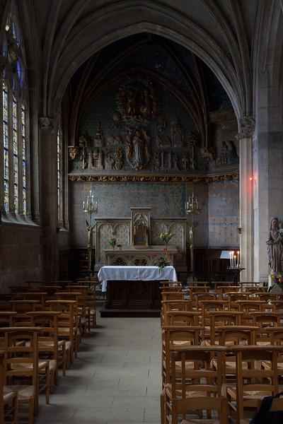 Gisors, Saint-Gervais-Saint-Protais Church  Chapel