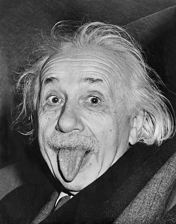 World Famous Photos - Einstein's Birthday - Arthur Sasse – 1951