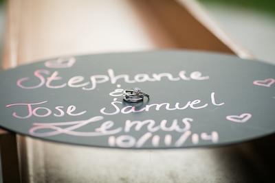 090714- Stephanie & Jose Samuel
