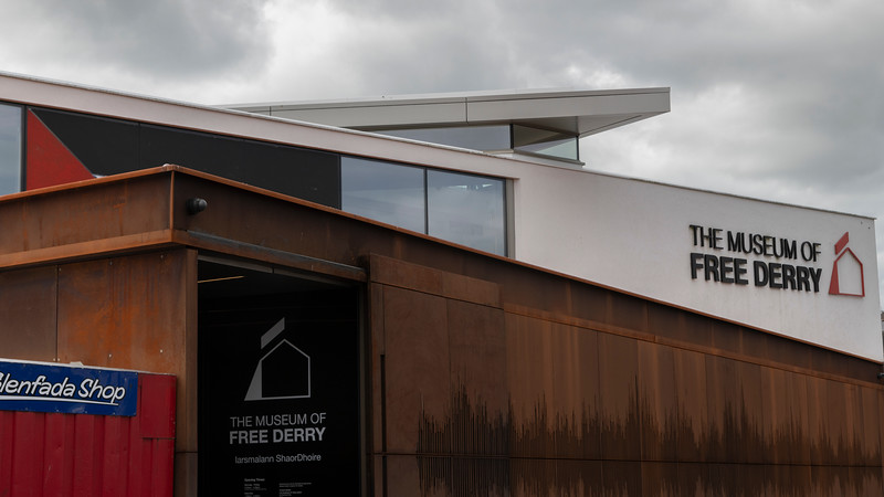The Museum of Free Derry, Londonderry, Northern Ireland, United Kingdom