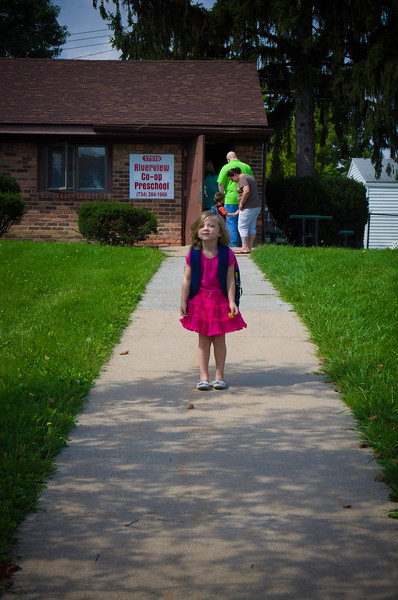 Ada First Day of School for 3 year old Preschool