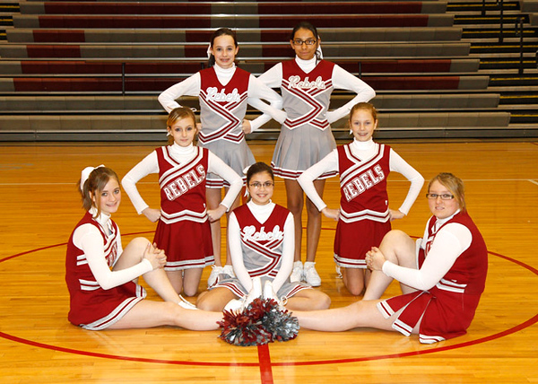 SN MS Cheerleading Team 10-11