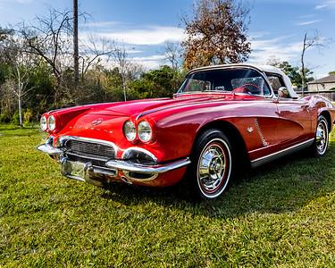 JG's '62 Red Corvette