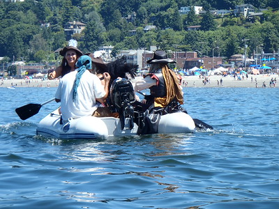 2017 Sea Kayak Pirates Landing Festival