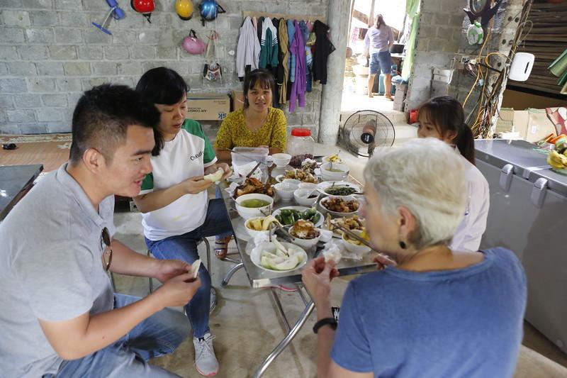A Vietnamese Feast in Diep's community