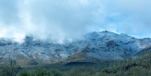 Jan 1st  Snow in Tucson