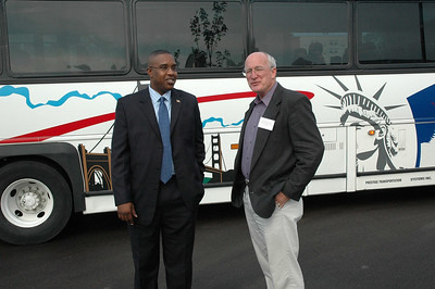 Gov Bus Tour North Central Wichita Sept 1, 2006