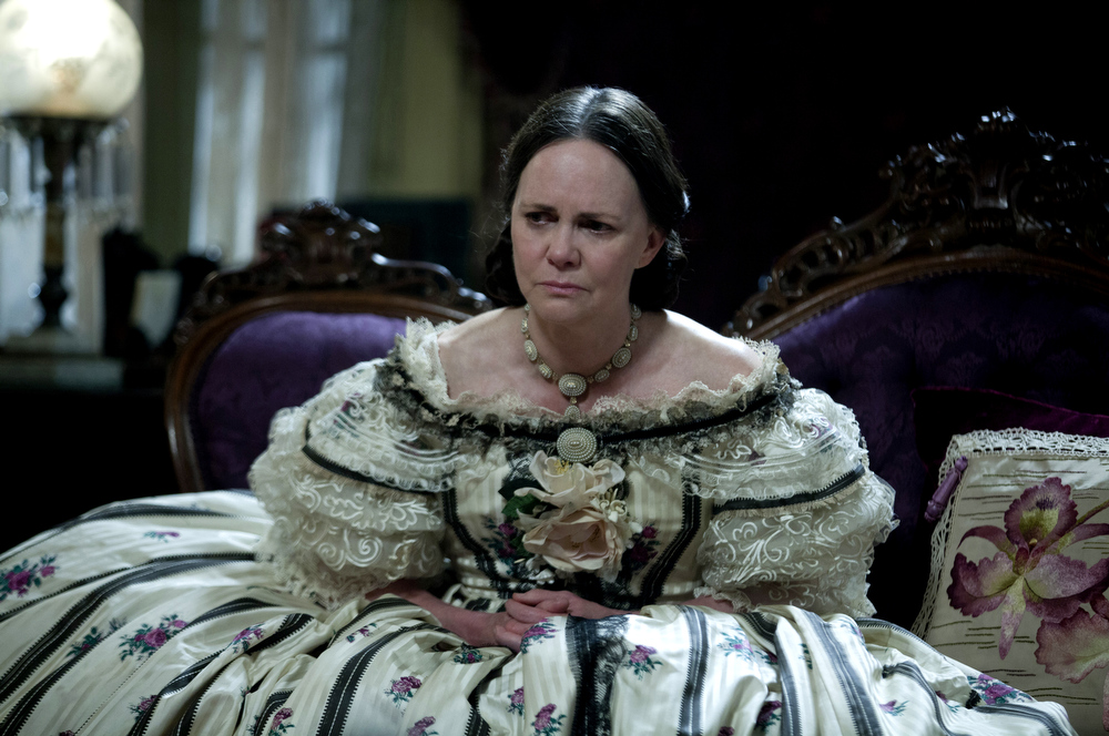 ". This image released by DreamWorks II Distribution Co., LLC and Twentieth Century Fox Film Corporation shows Sally Field in a scene from ""Lincoln.\"" Field was nominated  for an Academy Award for best supporting actress on Thursday, Jan. 10, 2013, for her role in ì Lincoln.ì  The 85th Academy Awards will air live on Sunday, Feb. 24, 2013 on ABC.   (AP Photo/DreamWorks II Distribution Co., LLC and Twentieth Century Fox Film Corporation, David James)"