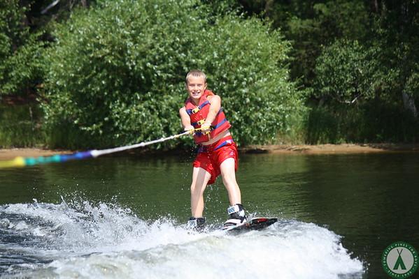 More Waterskiing!