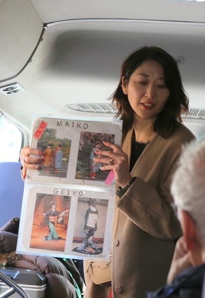 Akie Sensei teaches us about Maiko and Geiko