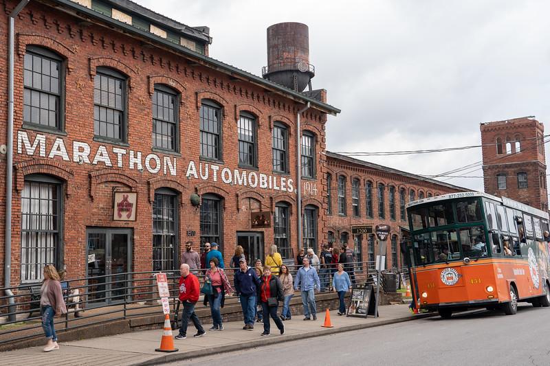 Marathon Village in Nashville