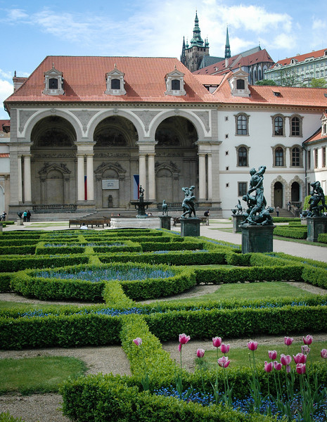 Prague: Mala Strana, Wallenstein Gardens and Czech Senate